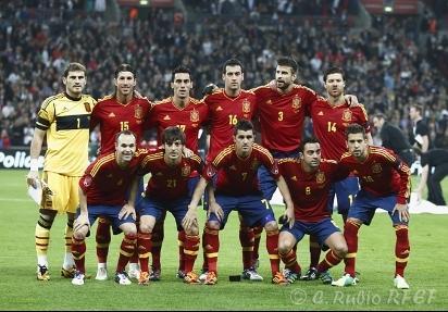 463ee22cf7 Espanha anuncia lista final de convocados para o Euro 2012