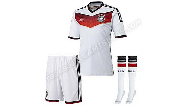 Copa 2014 pode ter Alemanha com uniforme todo branco. Sério 1da47fef775c0