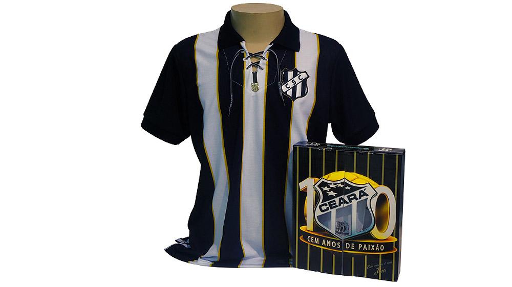 9b9b56568fc74 Ceará faz 100 anos e abusa  olha que coisa linda essa camisa ...