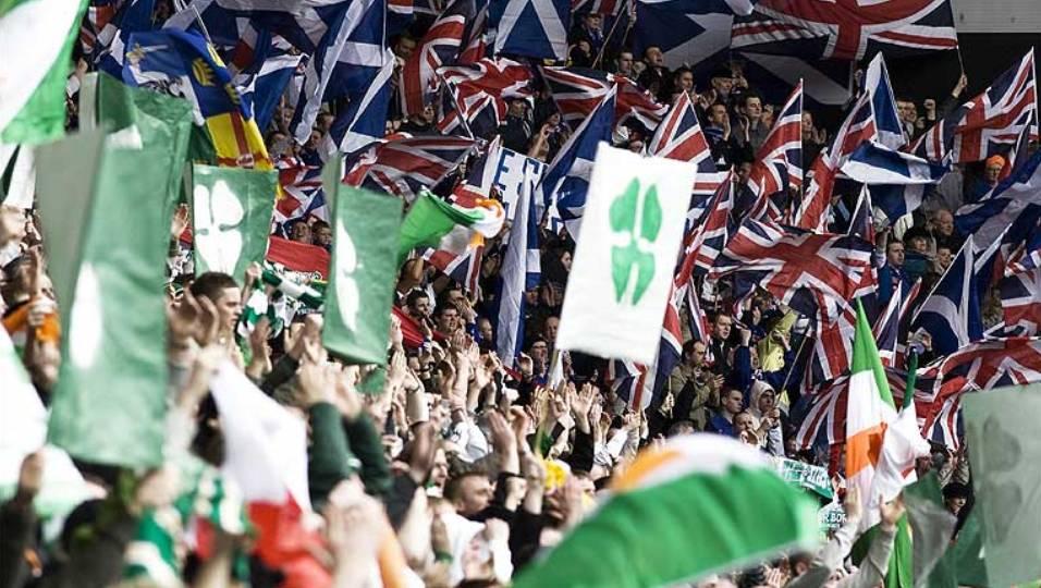 Uma coisa une as torcidas de Celtic e Rangers  a independência da Escócia 98b0bb30f30fe