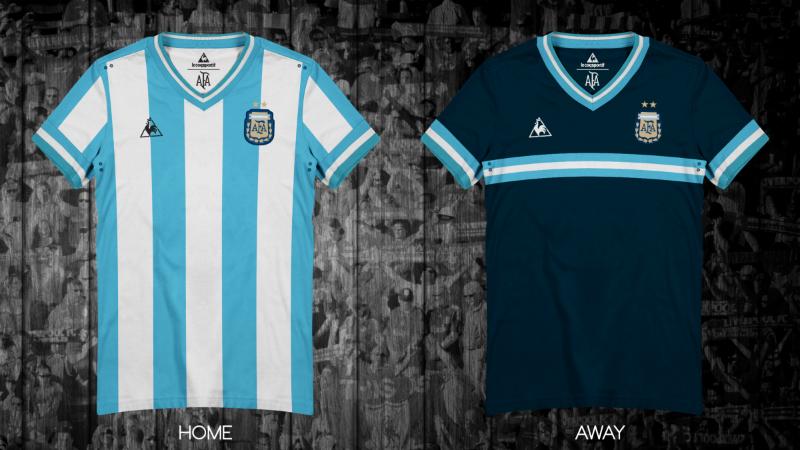 50c1740c7f La Casaca cria camisas da Le Coq Sportif para clubes e seleções (Divulgação)