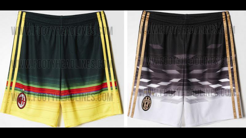 Estes uniformes alternativos de clubes tradicionais têm os piores calções  que você já viu 0f2aad38b204e
