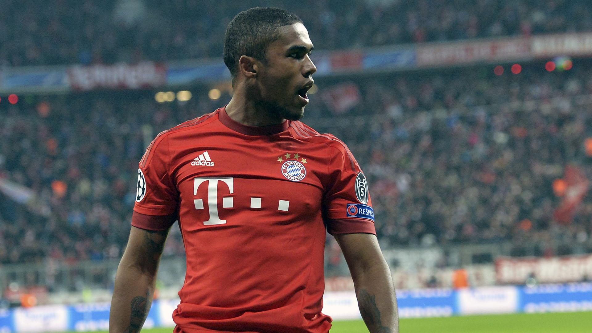 a355553a2198e Um dos grandes destaques da temporada tem sido o brasileiro Douglas Costa  no Bayern de Munique. Contratado junto ao Shakhtar Donetsk por € 30  milhões