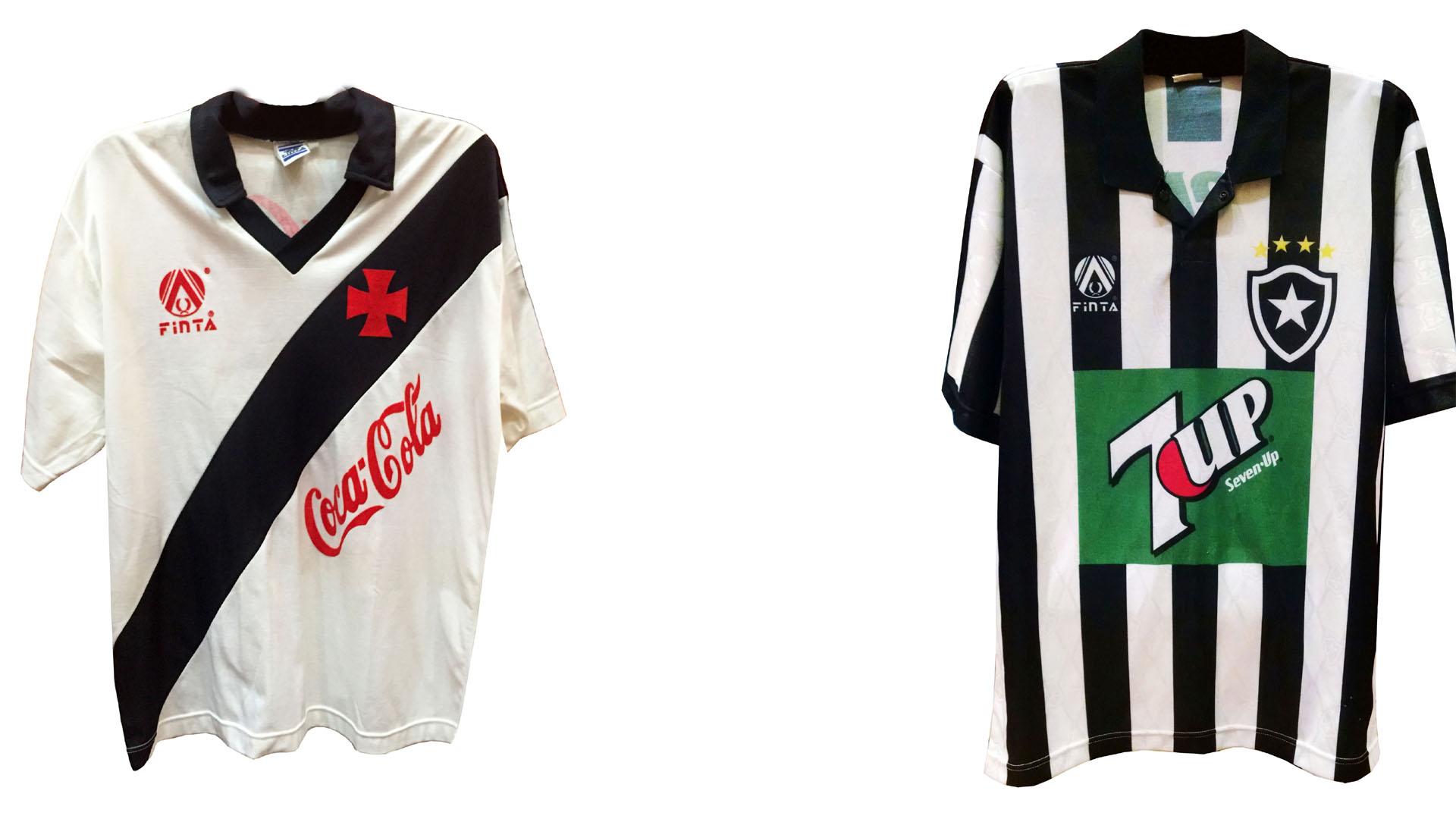 Loja vende camisas originais de Vasco-89 e Botafogo-95 eb0318e2eb445