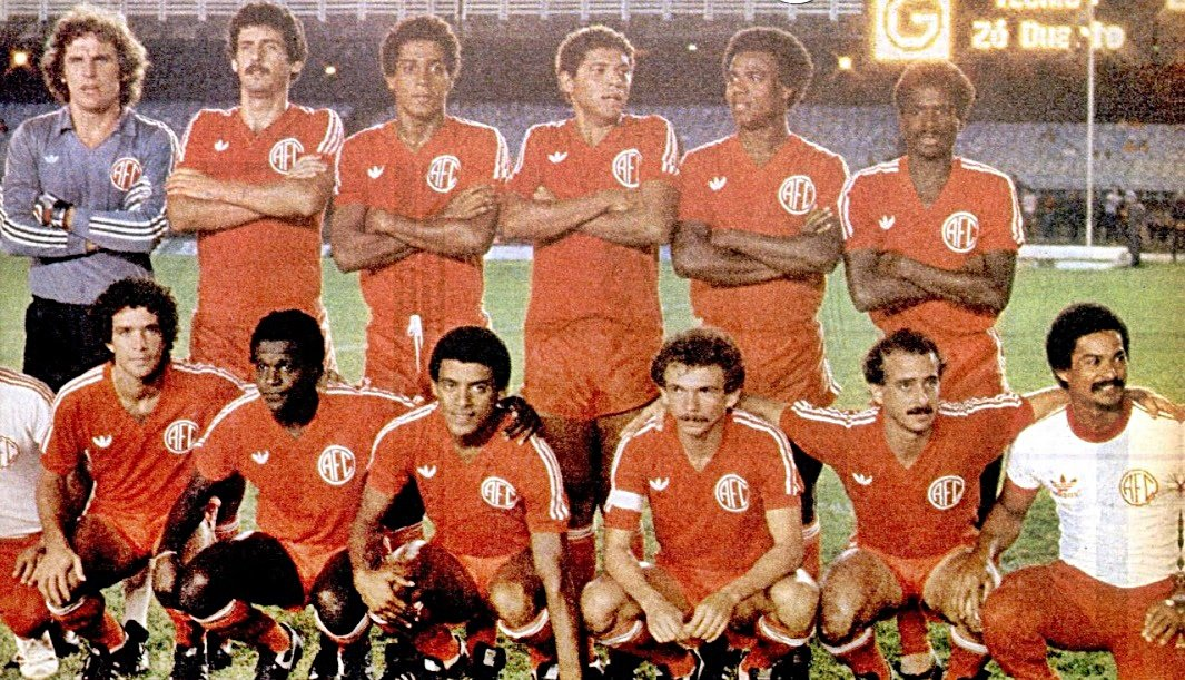 0e98093181 Taça dos Campeões de 1982  A heroica conquista nacional do America-RJ  completa 35 anos