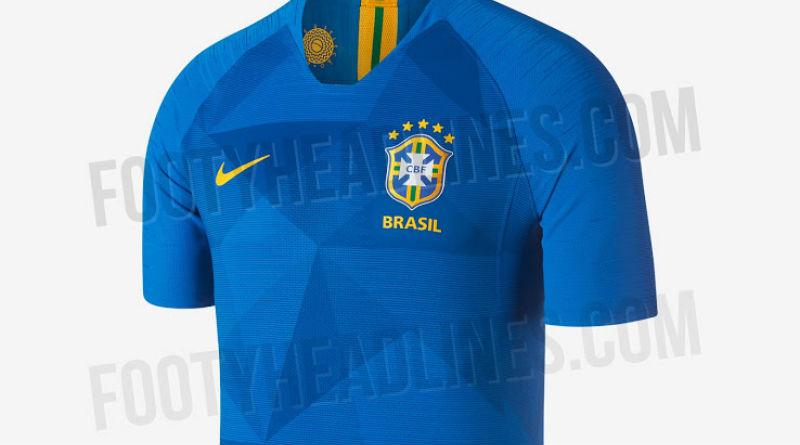 e5265ea9ef928 O lançamento das camisas da seleção brasileira para a Copa do Mundo de 2018  estão para acontecer. Ao contrário da estratégia de suas concorrentes