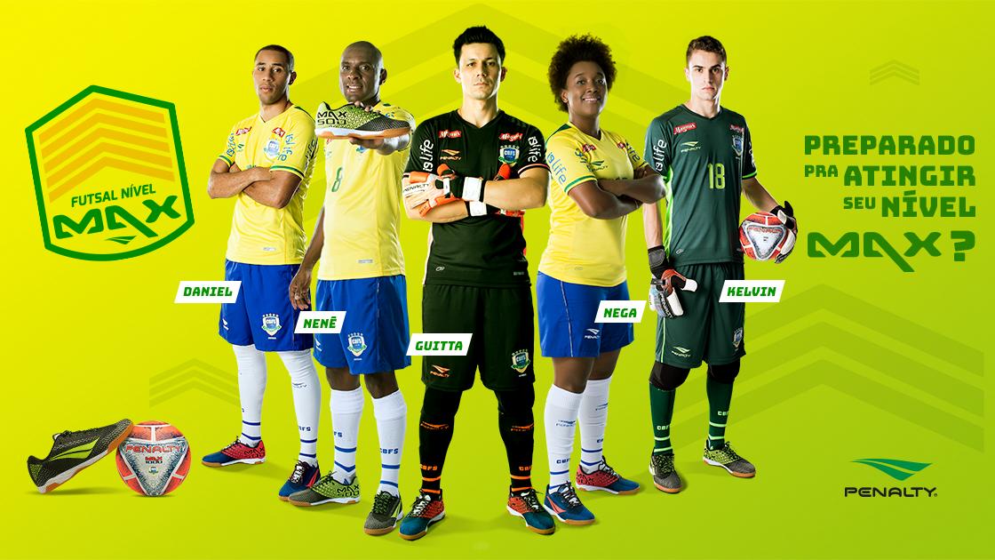 25398541b7 Seleção brasileira de futsal apresenta uniformes 2018 em amarelo claro