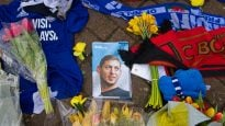 Tributes Are Made To Cardiff City's Emiliano Sala