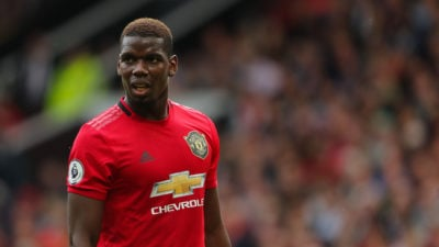 Paul Pogba, do Manchester United (Getty Images)