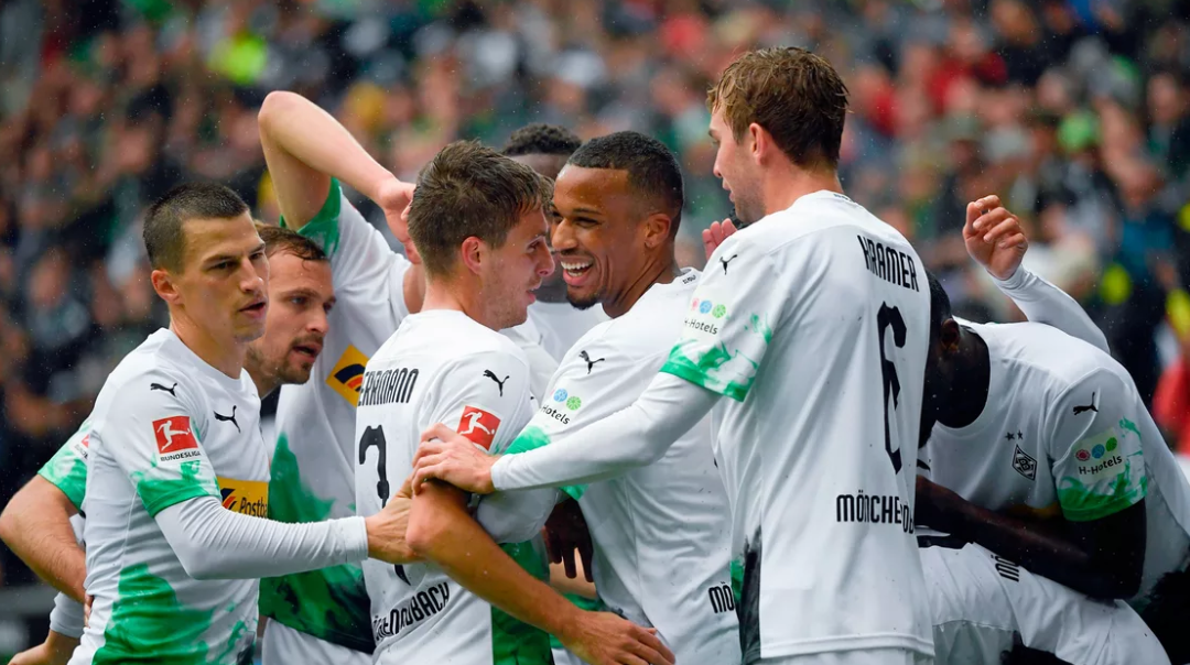 A Bundesliga ganha um novo líder: Pela primeira vez desde 2011, o Gladbach chega ao topo da tabela