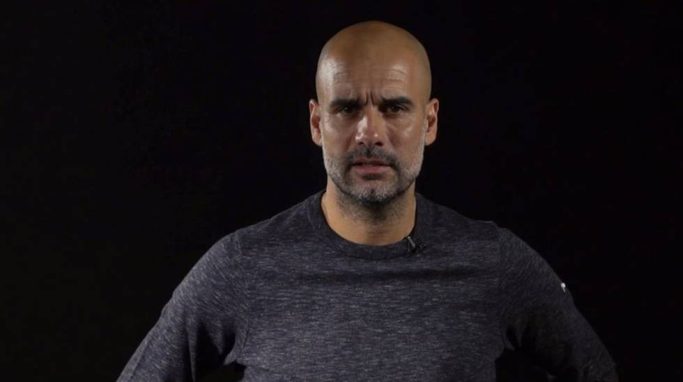 "Segundo Sky e BBC, Guardiola se comprometeu a seguir com o City ""mesmo na League Two"""