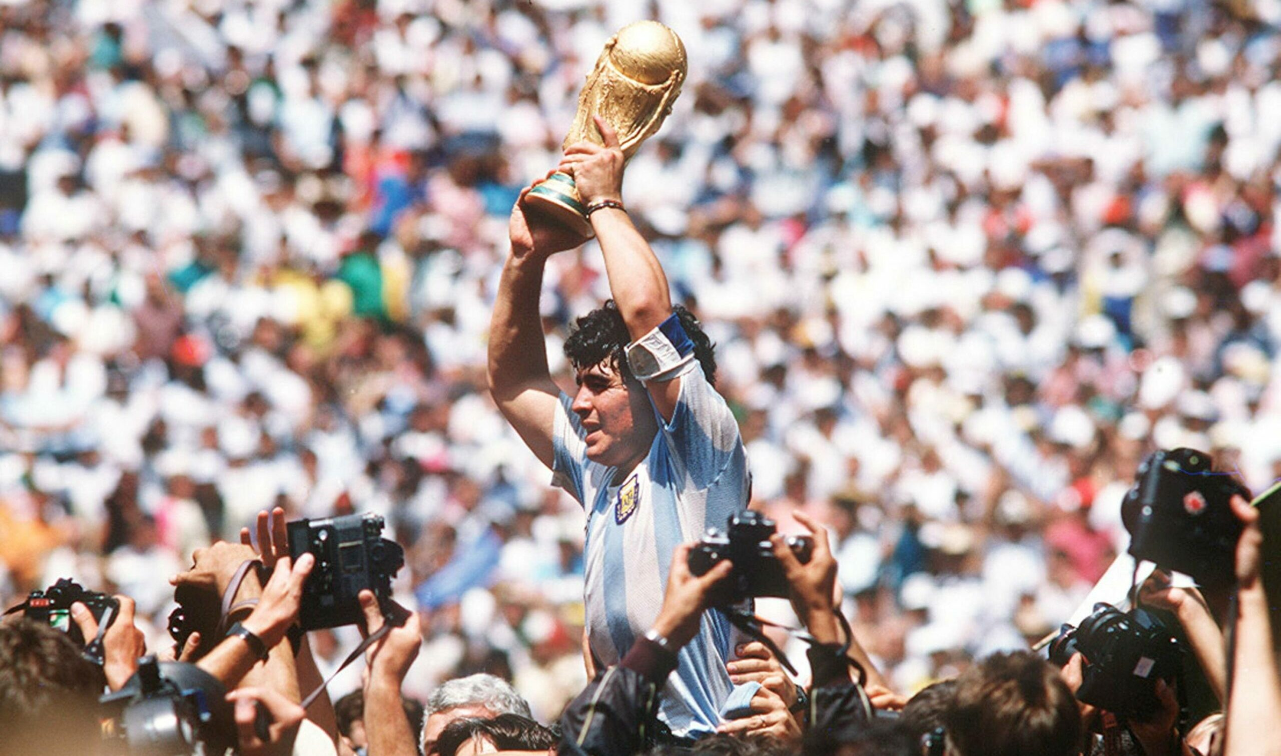 Maradona e a imortalidade - Foto: Imago/Pressefoto Baumann / One Football